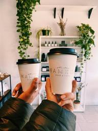 Macadamia lattes to go 🌿☕️