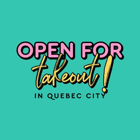 Cover of Coffee shops in Quebec City open for take-out during quarantine
