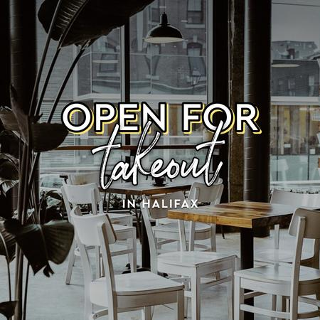 Cover of Coffee shops in Halifax open for take-out