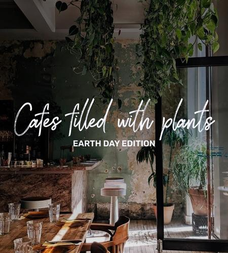 Cover of The Most Beautiful Cafes Filled With Plants In Montreal 🌿🍃
