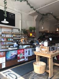 Very nice coffee & bio shop 🤩👌👌