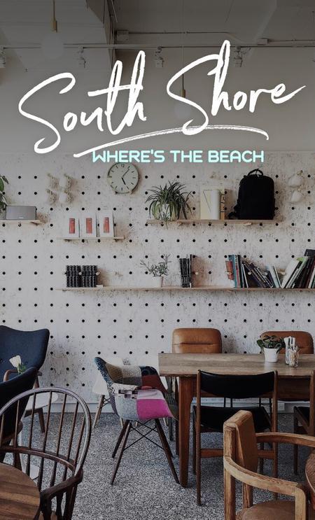 Cover of The Best South Shore Cafés